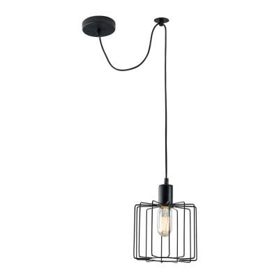 Подвес Maytoni T442-PL-01-B MonzaОдиночные<br><br><br>Тип лампы: Накаливания / энергосбережения / светодиодная<br>Тип цоколя: E27<br>Цвет арматуры: Черный<br>Количество ламп: 1<br>Диаметр, мм мм: 180<br>Высота полная, мм: 2210<br>Высота, мм: 210<br>MAX мощность ламп, Вт: 40