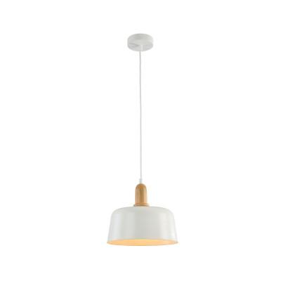 Подвес Maytoni T454-PL-01-W DaytonОдиночные<br><br><br>Тип лампы: Накаливания / энергосбережения / светодиодная<br>Тип цоколя: E27<br>Цвет арматуры: Белый<br>Количество ламп: 1<br>Диаметр, мм мм: 250<br>Высота полная, мм: 1410<br>Высота, мм: 210<br>MAX мощность ламп, Вт: 40
