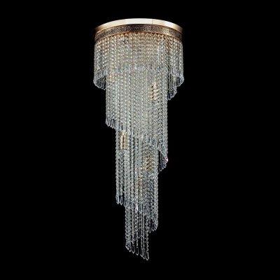 Люстра Maytoni T522-PT40x100-G CascadeКаскадные<br><br><br>Установка на натяжной потолок: Да<br>S освещ. до, м2: 48<br>Крепление: Планка<br>Тип товара: Люстра<br>Скидка, %: 18<br>Тип лампы: накаливания / энергосбережения / LED-светодиодная<br>Тип цоколя: E14<br>Количество ламп: 12<br>MAX мощность ламп, Вт: 60<br>Диаметр, мм мм: 420<br>Высота, мм: 1000<br>Цвет арматуры: золотой