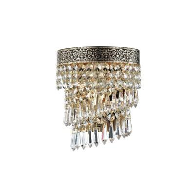 Светильник Maytoni T522-WB1-G Cascadeхрустальные бра<br>Немецкое хрустальное бра торговой марки Майтони, представленное на фото, привлекает взгляд неповторимым орнаментом золотой арматуры. Интересна и цена изделия, по которой его можно купить на сайте нашего интернет-магазина. Указанная стоимость хрустального бра Maytoni Diamant Crystal T522-WB1-G более чем умеренна для такого изысканного осветительного прибора. Бра компании Maytoni предусматривает использование одной лампы на 60 Ватт с цоколем Е14. Высота светильника составляет 210 миллиметров, а диаметр – 170 миллиметров.<br><br>S освещ. до, м2: 4<br>Тип лампы: накаливания / энергосбережения / LED-светодиодная<br>Тип цоколя: E14<br>Цвет арматуры: золотой<br>Количество ламп: 1<br>Ширина, мм: 170<br>Расстояние от стены, мм: 105<br>Высота, мм: 210<br>Оттенок (цвет): золото<br>MAX мощность ламп, Вт: 60