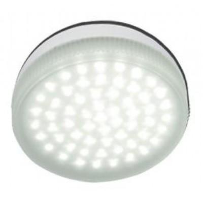 Лампа светодиодная Ecola GX53 4.2W 2800 T5MW42ELCС цоколем GX53<br>В интернет-магазине «Светодом» можно купить не только люстры и светильники, но и лампочки. В нашем каталоге представлены светодиодные, галогенные, энергосберегающие модели и лампы накаливания. В ассортименте имеются изделия разной мощности, поэтому у нас Вы сможете приобрести все необходимое для освещения.   Лампа Ecola GX53 4.2W 2800 T5MW42ELC обеспечит отличное качество освещения. При покупке ознакомьтесь с параметрами в разделе «Характеристики», чтобы не ошибиться в выборе. Там же указано, для каких осветительных приборов Вы можете использовать лампу Ecola GX53 4.2W 2800 T5MW42ELCEcola GX53 4.2W 2800 T5MW42ELC.   Для оформления покупки воспользуйтесь «Корзиной». При наличии вопросов Вы можете позвонить нашим менеджерам по одному из контактных номеров. Мы доставляем заказы в Москву, Екатеринбург и другие города России.<br><br>Цветовая t, К: WW - теплый белый 2700-3000 К<br>Тип лампы: LED - светодиодная<br>Тип цоколя: GX53<br>MAX мощность ламп, Вт: 4.2<br>Диаметр, мм мм: 75<br>Высота, мм: 25