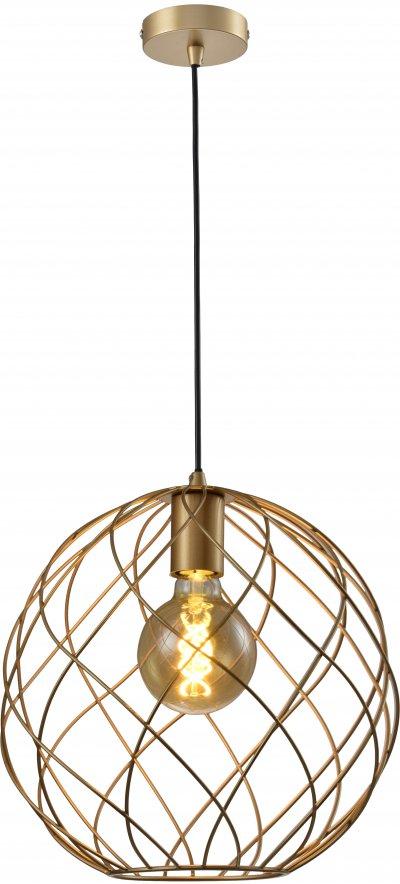 Светильник подвесной Janis TL1190H-01GD Toplight фото