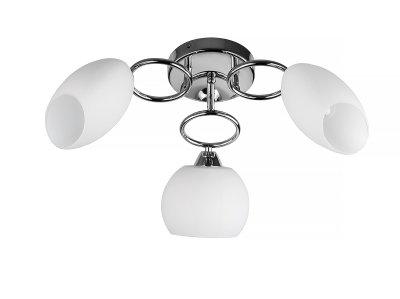 Люстра потолочная Toplight TL2650X-03CH MadalynПотолочные<br>Люстра потолочная TOPLIGHT серия Madalyn артикул TL2650X-03CH, хром, E14, 3x60 в идеале использовать со светодиодными лампами, которые помимо энергосбережения, помогут сохранить долгий срок службы светильника за счет незначительного нагрева ламп.<br><br>Установка на натяжной потолок: Да<br>S освещ. до, м2: 9<br>Тип цоколя: E14<br>Цвет арматуры: серебристый<br>Количество ламп: 3<br>Диаметр, мм мм: 580<br>Высота, мм: 250<br>MAX мощность ламп, Вт: 60