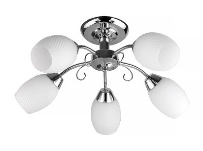 Люстра потолочная Toplight TL3500X-05CH MalvinaПотолочные<br>Люстра потолочная TOPLIGHT серия Malvina артикул TL3500X-05CH, хром, E14, 5x60 в идеале использовать со светодиодными лампами, которые помимо энергосбережения, помогут сохранить долгий срок службы светильника за счет незначительного нагрева ламп.<br><br>S освещ. до, м2: 15<br>Тип товара: Люстра потолочная<br>Тип цоколя: E14<br>Количество ламп: 5<br>Ширина, мм: 560<br>MAX мощность ламп, Вт: 60<br>Длина, мм: 560<br>Высота, мм: 250<br>Цвет арматуры: серебристый