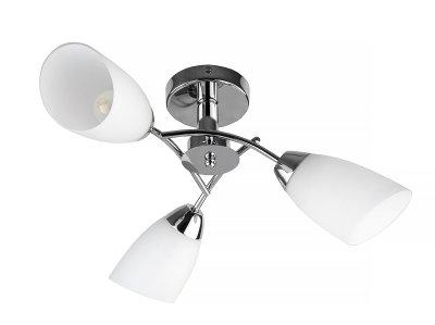 Люстра потолочная Toplight TL3600X-03CH CarmelПотолочные<br>Люстра потолочная TOPLIGHT серия Carmel артикул TL3600X-03CH, хром, E27, 3x40 в идеале использовать со светодиодными лампами, которые помимо энергосбережения, помогут сохранить долгий срок службы светильника за счет незначительного нагрева ламп.<br><br>Установка на натяжной потолок: Ограничено<br>S освещ. до, м2: 6<br>Тип цоколя: E27<br>Цвет арматуры: серебристый<br>Количество ламп: 3<br>Диаметр, мм мм: 630<br>Высота, мм: 180<br>MAX мощность ламп, Вт: 40