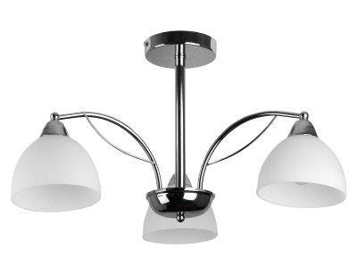 Люстра потолочная Toplight TL3610X-03CH CeliaПотолочные<br>Люстра потолочная TOPLIGHT серия Celia артикул TL3610X-03CH, хром, E14, 3x60 в идеале использовать со светодиодными лампами, которые помимо энергосбережения, помогут сохранить долгий срок службы светильника за счет незначительного нагрева ламп.<br><br>S освещ. до, м2: 9<br>Тип товара: Люстра потолочная<br>Тип цоколя: E14<br>Количество ламп: 3<br>MAX мощность ламп, Вт: 60<br>Диаметр, мм мм: 600<br>Высота, мм: 330<br>Цвет арматуры: серебристый