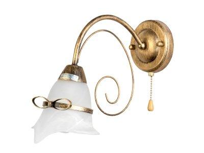 Светильник настенный бра Toplight TL3620B-01 BridgetКлассика<br>Бра TOPLIGHT серия Bridget артикул TL3620B-01, матовое золото, E14, 1x60 в идеале использовать со светодиодными лампами, которые помимо энергосбережения, помогут сохранить долгий срок службы светильника за счет незначительного нагрева ламп.<br><br>Тип товара: Светильник настенный бра<br>Скидка, %: 15<br>Тип цоколя: E14<br>Количество ламп: 1<br>Ширина, мм: 140<br>MAX мощность ламп, Вт: 60<br>Глубина, мм: 300<br>Высота, мм: 230<br>Цвет арматуры: золотой