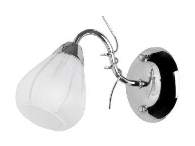 Светильник настенный бра Toplight TL3640B-01CH AlexiaМодерн<br>Бра TOPLIGHT серия Alexia артикул TL3640B-01CH, хром, E14, 1x60 в идеале использовать со светодиодными лампами, которые помимо энергосбережения, помогут сохранить долгий срок службы светильника за счет незначительного нагрева ламп.<br><br>Тип цоколя: E14<br>Количество ламп: 1<br>Ширина, мм: 120<br>MAX мощность ламп, Вт: 60<br>Глубина, мм: 250<br>Высота, мм: 170<br>Цвет арматуры: серебристый