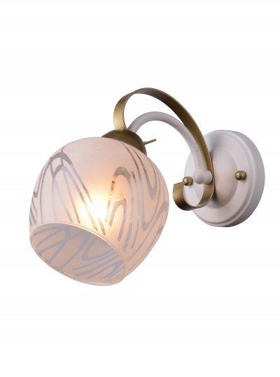 Бра SAMANTHA TL3690B-01WG ToplightОжидается<br><br><br>Тип цоколя: E27<br>Количество ламп: 1<br>Ширина, мм: 130<br>Высота, мм: 200<br>Оттенок (цвет): белый, золотой<br>MAX мощность ламп, Вт: 40
