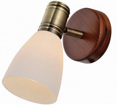 Спот SHARYL TL3720Y-01BB ToplightОжидается<br><br><br>Тип цоколя: E14<br>Количество ламп: 1<br>Ширина, мм: 125<br>Высота, мм: 160<br>Оттенок (цвет): античная бронза, коричневый<br>MAX мощность ламп, Вт: 40W