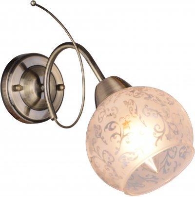 Бра PATRICIA TL3740B-01AB ToplightОжидается<br><br><br>Тип цоколя: E14<br>Количество ламп: 1<br>Ширина, мм: 120<br>Высота, мм: 280<br>Оттенок (цвет): античная бронза<br>MAX мощность ламп, Вт: 40