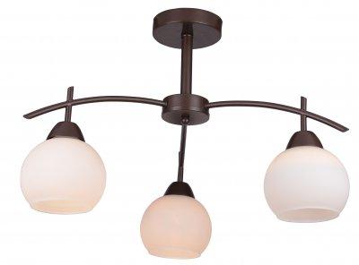 Люстра потолочная MOLLY TL3770X-03DB ToplightОжидается<br><br><br>Тип цоколя: E27<br>Количество ламп: 3<br>Ширина, мм: 550<br>Высота, мм: 360<br>Оттенок (цвет): коричневый<br>MAX мощность ламп, Вт: 40