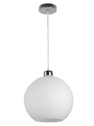 Подвес Toplight TL4070D-01CH BarbraОдиночные<br>Подвес TOPLIGHT серия Barbra артикул TL4070D-01CH, хром, E27, 1x60 в идеале использовать со светодиодными лампами, которые помимо энергосбережения, помогут сохранить долгий срок службы светильника за счет незначительного нагрева ламп.<br><br>Тип товара: Подвес<br>Тип цоколя: E27<br>Количество ламп: 1<br>MAX мощность ламп, Вт: 60<br>Диаметр, мм мм: 300<br>Высота, мм: 1200<br>Цвет арматуры: серебристый