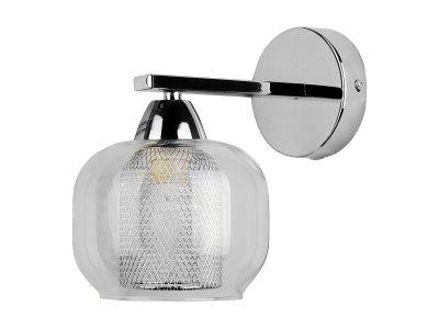 Светильник настенный бра Toplight TL4110B-01CH DianeМодерн<br>Бра TOPLIGHT серия Diane артикул TL4110B-01CH, хром, E14, 1x60 в идеале использовать со светодиодными лампами, которые помимо энергосбережения, помогут сохранить долгий срок службы светильника за счет незначительного нагрева ламп.<br><br>Тип товара: Светильник настенный бра<br>Скидка, %: 20<br>Тип цоколя: E14<br>Количество ламп: 1<br>Ширина, мм: 140<br>MAX мощность ламп, Вт: 60<br>Глубина, мм: 210<br>Высота, мм: 200<br>Цвет арматуры: серебристый
