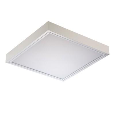 Светильник накладной TL418 OL1 ECOНакладные ЛПО<br>Опаловый   рассеиватель светильника TL 418 OL1 обеспечивает  максимально   комфортное для зрение мягкое освещение объектов. Эти накладные    светильники, способные создавать равномерное световое поле без   ослепляющего  эффекта, особенно рекомендованы для использования в   медицинских и учебных  заведениях. Экономичность применяемых источников   света типа люминесцентных ламп  Т8 является основой для создания самых   рентабельных систем утилитарного  освещения. Простота конструкции   определяет оперативность монтажа и технического  обслуживания   осветительных приборов этого класса, а европейская комплектация    обеспечивает безопасность при транспортировке.<br><br><br><br>КОНСТРУКЦИЯ СВЕТИЛЬНИКА TL 418 OL1<br><br><br>  <br><br>Корпус из листовой стали c полимерным покрытием белого цвета                         <br>Рассеиватель опаловый – лист светотехнический.   Изготавливается из полистирола с добавлением специальных   светостабилизирующих композиций, позволяющих обеспечить постоянный цвет   рассеивателя в течение всего срока                          эксплуатации светильника (не желтеет от   ультрафиолета)                           <br> Конструкция крепления рассеивателя в   светильнике выполнена таким образом, чтобы максимально экономить время   при монтаже и обслуживании                          светильника, обеспечивая при этом надежность   крепления                       <br>Стандартное исполнение: электромагнитные пускорегулирующие аппараты                          (ПРА), патроны для ламп и стартеров, стартеры, компенсирующий конденсатор, сетевая колодка.<br><br>Тип цоколя: G13<br>Количество ламп: 4<br>Ширина, мм: 620<br>Длина, мм: 620<br>Высота, мм: 85<br>MAX мощность ламп, Вт: 18