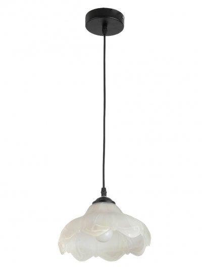 Подвес Toplight TL4450D-01BL CandyceОдиночные<br>Подвес TOPLIGHT серия Candyce артикул TL4450D-01BL, белый, E27, 1x60 в идеале использовать со светодиодными лампами, которые помимо энергосбережения, помогут сохранить долгий срок службы светильника за счет незначительного нагрева ламп.<br><br>S освещ. до, м2: 3<br>Тип цоколя: E27<br>Цвет арматуры: белый<br>Количество ламп: 1<br>Диаметр, мм мм: 210<br>Высота, мм: 1120<br>MAX мощность ламп, Вт: 60