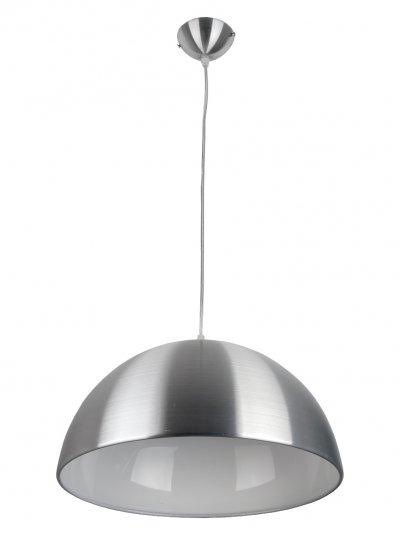 Подвесной светильник Toplight TL4510D-01CH MayОдиночные<br>Подвес TOPLIGHT серия May артикул TL4510D-01CH, никель, E27, 1x60 в идеале использовать со светодиодными лампами, которые помимо энергосбережения, помогут сохранить долгий срок службы светильника за счет незначительного нагрева ламп.<br><br>S освещ. до, м2: 3<br>Тип цоколя: E27<br>Количество ламп: 1<br>MAX мощность ламп, Вт: 60<br>Диаметр, мм мм: 380<br>Высота, мм: 1130<br>Цвет арматуры: серебристый