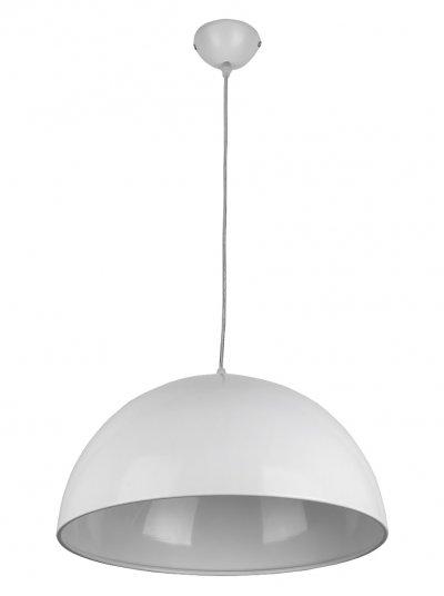 Подвес Toplight TL4510D-01WH MayОдиночные<br>Подвес TOPLIGHT серия May артикул TL4510D-01WH, белый, E27, 1x60 в идеале использовать со светодиодными лампами, которые помимо энергосбережения, помогут сохранить долгий срок службы светильника за счет незначительного нагрева ламп.<br><br>Тип цоколя: E27<br>Количество ламп: 1<br>MAX мощность ламп, Вт: 60<br>Диаметр, мм мм: 380<br>Высота, мм: 1130<br>Цвет арматуры: белый
