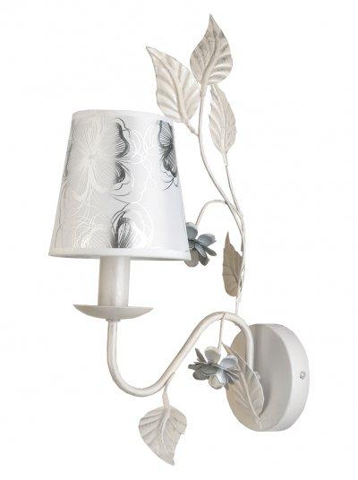 Светильник настенный бра Toplight TL5630B-01WH MadlynКлассика<br>Бра TOPLIGHT серия Madlyn артикул TL5630B-01WH, белая, E14, 1x40 в идеале использовать со светодиодными лампами, которые помимо энергосбережения, помогут сохранить долгий срок службы светильника за счет незначительного нагрева ламп.<br><br>Тип цоколя: E14<br>Количество ламп: 1<br>Ширина, мм: 140<br>MAX мощность ламп, Вт: 40<br>Глубина, мм: 290<br>Высота, мм: 460<br>Цвет арматуры: белый