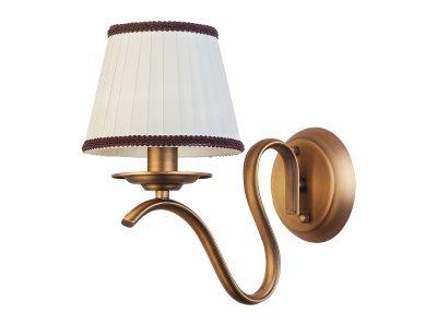 Светильник настенный бра Toplight TL5650B-01BS OpalКлассика<br>Бра TOPLIGHT серия Opal артикул TL5650B-01BS, латунь, E14, 1x40 в идеале использовать со светодиодными лампами, которые помимо энергосбережения, помогут сохранить долгий срок службы светильника за счет незначительного нагрева ламп.<br><br>Тип цоколя: E14<br>Количество ламп: 1<br>Ширина, мм: 150<br>MAX мощность ламп, Вт: 40<br>Глубина, мм: 260<br>Высота, мм: 260<br>Цвет арматуры: латунь