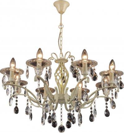Люстра подвесная ZOE TL7220D-08RY ToplightОжидается<br><br><br>Тип цоколя: E14<br>Количество ламп: 8<br>Ширина, мм: 710<br>Высота, мм: 1520<br>Оттенок (цвет): слоновая кость<br>MAX мощность ламп, Вт: 40