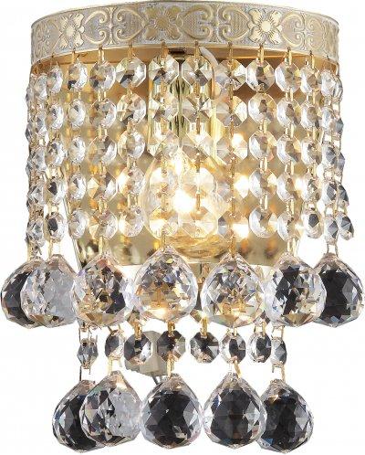 Бра VIVIEN TL7230B-01WG ToplightОжидается<br><br><br>Тип цоколя: E14<br>Количество ламп: 1<br>Ширина, мм: 345<br>Высота, мм: 250<br>Оттенок (цвет): золотой<br>MAX мощность ламп, Вт: 40