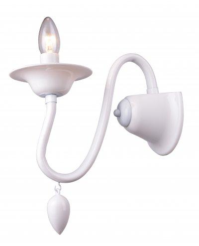 Бра MARTINA TL7310B-01WH ToplightОжидается<br><br><br>Тип цоколя: E14<br>Количество ламп: 1<br>Ширина, мм: 140<br>Высота, мм: 270<br>Оттенок (цвет): белый<br>MAX мощность ламп, Вт: 40
