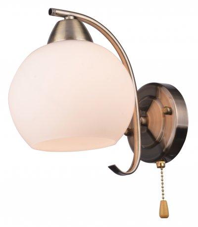 Бра LYNNETTE TL7340B-01AB ToplightОжидается<br><br><br>Тип цоколя: E27<br>Количество ламп: 1<br>Ширина, мм: 155<br>Высота, мм: 205<br>Оттенок (цвет): античная бронза<br>MAX мощность ламп, Вт: 60