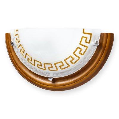 Купить Настенно-потолочный светильник GIEN TL9170Y-01OA Toplight, Россия, дерево, стекло