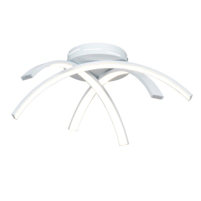 Люстра светодиодная белая TLAR3-51-07/W/4000К ЛючераПотолочные<br>Стильная, современная люстра – светодиодный потолочный светильник в форме чаши. Идеально подходит для интерьеров в стиле модерн, хайтек, лофт.<br>Испускает естественный белый, яркий свет, без выраженных пятен. <br>Преимущества:<br>1. Надежный и долговечный: диоды расположены на алюминиевой плате, а не на ленте. <br>2. Прочный: основание и корпус и металла, а не из пластика.<br>3. Безопасный: нулевой коэффициент мерцания – благоприятно для зрения.<br><br>Установка на натяжной потолок: Да<br>S освещ. до, м2: 10<br>Крепление: Планка<br>Тип лампы: LED - светодиодная<br>Тип цоколя: LED<br>Цвет арматуры: Белый<br>Ширина, мм: 430<br>Высота полная, мм: 120<br>Длина, мм: 430<br>Высота, мм: 120<br>Общая мощность, Вт: 25