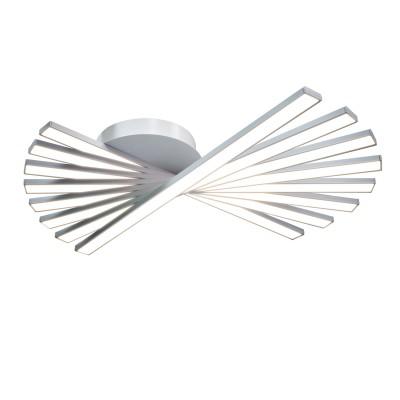 Люстра TLCI8-51-01/W/3000К Лючералюстры хай тек потолочные<br>Стильная, современная люстра – светодиодный потолочный светильник в форме веера. Идеально подходит для интерьеров в стиле модерн, хайтек, лофт.<br>Испускает естественный белый, яркий свет, без выраженных пятен. <br>Преимущества:<br>1. Надежный и долговечный: диоды расположены на алюминиевой плате, а не на ленте. <br>2. Прочный: основание и корпус и металла, а не из пластика.<br>3. Безопасный: нулевой коэффициент мерцания – благоприятно для зрения.<br><br>Установка на натяжной потолок: Да<br>S освещ. до, м2: 24<br>Крепление: Планка<br>Тип лампы: LED - светодиодная<br>Тип цоколя: LED<br>Цвет арматуры: Белый<br>Ширина, мм: 510<br>Высота полная, мм: 120<br>Длина, мм: 510<br>Высота, мм: 120<br>Общая мощность, Вт: 60