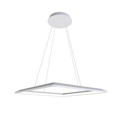 Люстра светодиодная белая TLCU1-34-01/W/3000К Лючераподвесные люстры хай тек стиля<br>Стильная, современная люстра – светодиодный дизайнерский светильник в форме квадрата. Подходит для интерьеров в стиле модерн, хайтек, лофт.<br>Преимущества:<br>1. Надежный и долговечный: диоды расположены на алюминиевой плате, а не на ленте. <br>2. Прочный: основание и корпус и металла, а не из пластика.<br>3. Безопасный: нулевой коэффициент мерцания – благоприятно для зрения.