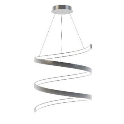 Люстра светодиодная белая TLES1-30-01/W/3000К Лючераподвесные люстры хай тек стиля<br>Стильная, современная люстра – светодиодный потолочный светильник в форме спирали. Идеально подходит для интерьеров в стиле модерн, хайтек, лофт.<br>Испускает естественный белый, яркий свет, без выраженных пятен. <br>Преимущества:<br>1. Надежный и долговечный: диоды расположены на алюминиевой плате, а не на ленте. <br>2. Прочный: основание и корпус и металла, а не из пластика.<br>3. Безопасный: нулевой коэффициент мерцания – благоприятно для зрения.