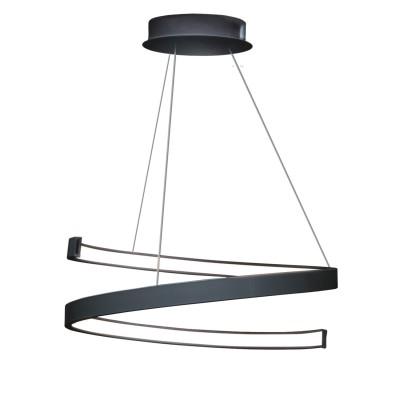 Люстра TLES1-40-01/B/3000К ЛючераПодвесные<br>Стильная, современная люстра – светодиодный потолочный светильник в форме спирали. Идеально подходит для интерьеров в стиле модерн, хайтек, лофт.<br>Испускает естественный белый, яркий свет, без выраженных пятен. <br>Преимущества:<br>1. Надежный и долговечный: диоды расположены на алюминиевой плате, а не на ленте. <br>2. Прочный: основание и корпус и металла, а не из пластика.<br>3. Безопасный: нулевой коэффициент мерцания – благоприятно для зрения.<br><br>Установка на натяжной потолок: Да<br>S освещ. до, м2: 12<br>Крепление: Планка<br>Тип лампы: LED - светодиодная<br>Тип цоколя: LED<br>Цвет арматуры: Черный<br>Ширина, мм: 400<br>Высота полная, мм: 1000<br>Длина, мм: 400<br>Высота, мм: 100<br>Общая мощность, Вт: 30