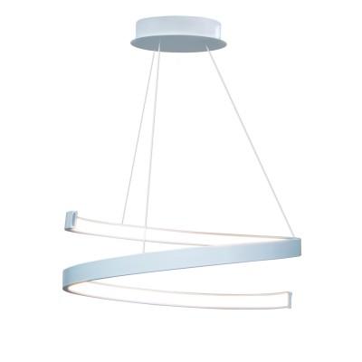Люстра светодиодная белая TLES1-40-01/W/3000К Лючераподвесные люстры хай тек<br>Стильная, современная люстра – светодиодный потолочный светильник в форме спирали. Идеально подходит для интерьеров в стиле модерн, хайтек, лофт.<br>Испускает естественный белый, яркий свет, без выраженных пятен. <br>Преимущества:<br>1. Надежный и долговечный: диоды расположены на алюминиевой плате, а не на ленте. <br>2. Прочный: основание и корпус и металла, а не из пластика.<br>3. Безопасный: нулевой коэффициент мерцания – благоприятно для зрения.<br><br>Установка на натяжной потолок: Да<br>S освещ. до, м2: 12<br>Крепление: Планка<br>Тип лампы: LED - светодиодная<br>Тип цоколя: LED<br>Цвет арматуры: Белый<br>Ширина, мм: 400<br>Высота полная, мм: 1000<br>Длина, мм: 400<br>Высота, мм: 100<br>Общая мощность, Вт: 30