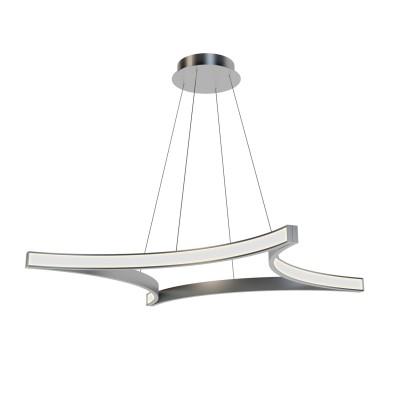 Люстра светодиодная TLRO1-70-01/S/4000К Лючераподвесные люстры хай тек стиля<br>Стильная, современная люстра – светодиодный дизайнерский светильник в форме квадрата. Подходит для интерьеров в стиле модерн, хайтек, лофт.<br>Преимущества:<br>1. Надежный и долговечный: диоды расположены на алюминиевой плате, а не на ленте. <br>2. Прочный: основание и корпус и металла, а не из пластика.<br>3. Безопасный: нулевой коэффициент мерцания – благоприятно для зрения.