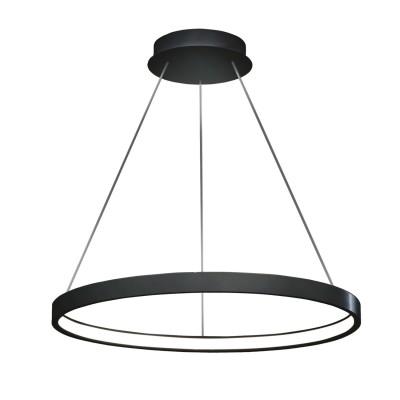 Люстра светодиодная черная TLRU1-50-01/B/3000К Лючераподвесные люстры хай тек<br>Стильная, современная люстра – светодиодный дизайнерский светильник в форме кольца. Подходит для интерьеров в стиле модерн, хайтек, лофт.<br>Испускает тепло-белый яркий свет, похожий на солнышко, без выраженных пятен.<br>Преимущества:<br>1. Надежный и долговечный: диоды расположены на алюминиевой плате, а не на ленте. <br>2. Прочный: основание и корпус и металла, а не из пластика.<br>3. Безопасный: нулевой коэффициент мерцания – благоприятно для зрения.<br><br>Установка на натяжной потолок: Да<br>S освещ. до, м2: 10<br>Крепление: Планка<br>Тип лампы: LED - светодиодная<br>Тип цоколя: LED<br>Цвет арматуры: Черный<br>Ширина, мм: 500<br>Высота полная, мм: 1000<br>Длина, мм: 500<br>Высота, мм: 100<br>Общая мощность, Вт: 25