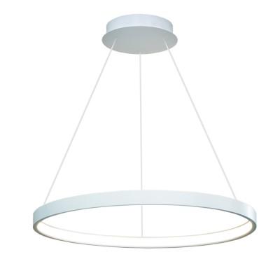 Люстра светодиодная белая TLRU1-50-01/W/4000К ЛючераПодвесные<br>Стильная, современная люстра – светодиодный дизайнерский светильник в форме кольца. Подходит для интерьеров в стиле модерн, хайтек, лофт.<br>Испускает тепло-белый яркий свет, похожий на солнышко, без выраженных пятен.<br>Преимущества:<br>1. Надежный и долговечный: диоды расположены на алюминиевой плате, а не на ленте. <br>2. Прочный: основание и корпус и металла, а не из пластика.<br>3. Безопасный: нулевой коэффициент мерцания – благоприятно для зрения.<br><br>Установка на натяжной потолок: Да<br>S освещ. до, м2: 10<br>Крепление: Планка<br>Тип лампы: LED - светодиодная<br>Тип цоколя: LED<br>Цвет арматуры: Белый<br>Ширина, мм: 500<br>Высота полная, мм: 1000<br>Длина, мм: 500<br>Высота, мм: 100<br>Общая мощность, Вт: 25