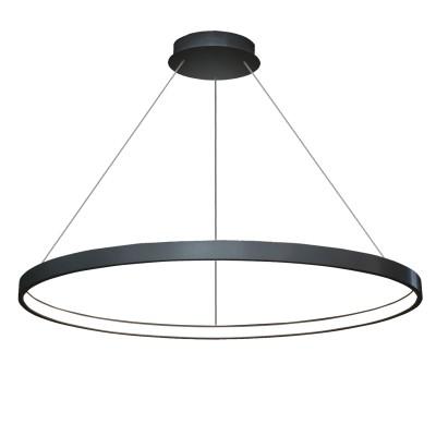 Люстра TLRU1-70-01/B/3000К Лючераподвесные люстры хай тек<br>Стильная, современная люстра – светодиодный дизайнерский светильник в форме кольца. Подходит для интерьеров в стиле модерн, хайтек, лофт.<br>Испускает тепло-белый яркий свет, похожий на солнышко, без выраженных пятен.<br>Преимущества:<br>1. Надежный и долговечный: диоды расположены на алюминиевой плате, а не на ленте. <br>2. Прочный: основание и корпус и металла, а не из пластика.<br>3. Безопасный: нулевой коэффициент мерцания – благоприятно для зрения.<br><br>Установка на натяжной потолок: Да<br>S освещ. до, м2: 14<br>Крепление: Планка<br>Тип лампы: LED - светодиодная<br>Тип цоколя: LED<br>Цвет арматуры: Черный<br>Ширина, мм: 700<br>Высота полная, мм: 1000<br>Длина, мм: 700<br>Высота, мм: 100<br>Общая мощность, Вт: 36