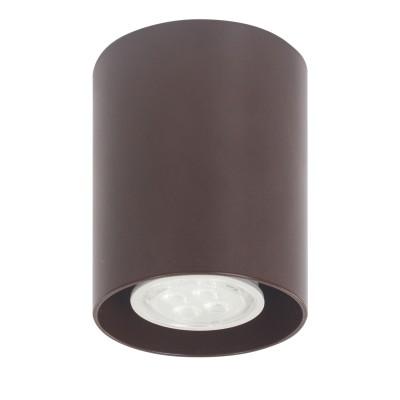 Артпром Tubo8 P1 15 Потолочный светильникНакладные точечные<br>Настенно-потолочные светильники – это универсальные осветительные варианты, которые подходят для вертикального и горизонтального монтажа. В интернет-магазине «Светодом» Вы можете приобрести подобные модели по выгодной стоимости. В нашем каталоге представлены как бюджетные варианты, так и эксклюзивные изделия от производителей, которые уже давно заслужили доверие дизайнеров и простых покупателей.  Настенно-потолочный светильник Артпром Tubo8 P1 15 станет прекрасным дополнением к основному освещению. Благодаря качественному исполнению и применению современных технологий при производстве эта модель будет радовать Вас своим привлекательным внешним видом долгое время. Приобрести настенно-потолочный светильник Артпром Tubo8 P1 15 можно, находясь в любой точке России.<br><br>S освещ. до, м2: 3<br>Тип цоколя: GU10<br>Цвет арматуры: Коричневый<br>Количество ламп: 1<br>Диаметр, мм мм: 80<br>Высота, мм: 95<br>MAX мощность ламп, Вт: 50