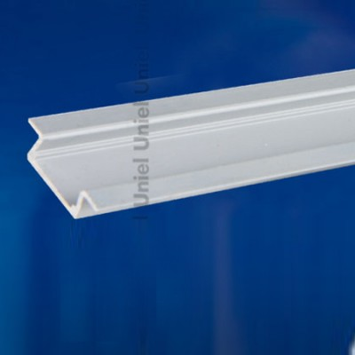 Профиль для светодиодных лент UNIEL UFE-A01 SILVER 100 POLYBAGВстраиваемый профиль<br><br>
