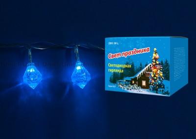 Гирлянда UNIEL ULD-S0280-020/DTA BLUE IP20 DIAMONDSГирлянды новогодние<br>Технические характеристики:<br><br><br><br><br><br><br>Гарантийный талон<br>Да<br><br><br>Срок гарантии<br>12 мес<br><br><br>Срок службы, ч<br>30000<br><br><br>Срок годности<br>не ограничен<br><br><br>Тип индивидуальной упаковки<br>картон<br><br><br>Тип<br>гирлянда<br><br><br>Мощность, Вт<br>2<br><br><br>Длина, м<br>2,80<br><br><br>Класс защиты, IP<br>20<br><br><br>Свет<br>синий<br><br><br>Входное напряжение, В<br>220-240<br><br><br>Диапазон рабочих температур, °С<br>-20 +35<br><br><br>Количество светодиодов, шт<br>20<br><br><br>Назначение<br>декоративная подсветка<br><br><br>Частота, Гц<br>50-60<br>