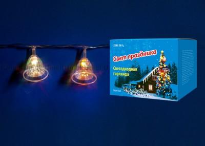 Гирлянда UNIEL ULD-S0280-020/DTA RGB IP20 BELLSГирлянды новогодние<br>Технические характеристики:     <br>        <br>  <br>  <br>      <br>      <br>       <br>          <br><br><br><br><br>            Гарантийный талон           <br><br>            Да          <br><br><br><br>            Срок гарантии           <br><br>            12 мес          <br><br><br><br>            Срок службы, ч           <br><br>            30000          <br><br><br><br>            Срок годности           <br><br>            не ограничен          <br><br><br><br>            Тип индивидуальной упаковки           <br><br>            картон          <br><br><br><br>            Тип           <br><br>            гирлянда          <br><br><br><br>            Мощность, Вт           <br><br>            2          <br><br><br><br>            Длина, м           <br><br>            2,80          <br><br><br><br>            Класс защиты, IP           <br><br>            20          <br><br><br><br>            Свет           <br><br>            RGB          <br><br><br><br>            Входное напряжение, В           <br><br>            220-240          <br><br><br><br>            Диапазон рабочих температур, °С           <br><br>            -20 +35          <br><br><br><br>            Количество светодиодов, шт           <br><br>            20          <br><br><br><br>            Назначение           <br><br>            декоративная подсветка          <br><br><br><br>            Частота, Гц           <br><br>            50-60<br>