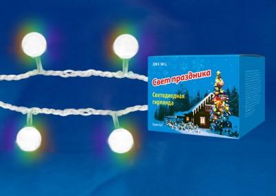 Гирлянда UNIEL ULD-S0700-050/DTA RGB IP20 RAINBOWГирлянды новогодние<br><br><br>Цветовая t, К: RGB - многоцветный<br>Тип лампы: LED - светодиодная<br>Количество ламп: 50<br>Длина, мм: 7000<br>Оттенок (цвет): разноцветная