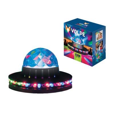 Гирлянда UNIEL ULI-Q305 3,5W/RGB BLACKГирлянды новогодние<br>Светодиодные светильники-проекторы VOLPE серии DISCO предназначены для оформления дискотек, танцевальных вечеров. Удобно использовать в клубах, барах, ресторанах. Также можно организовать замечательный праздник для детей и взрослых в домашней обстановке.<br> Светодиодный светильник-проектор напольный ULI-Q305 имеет кабель с вилкой и рассчитан на напряжение 220В.<br>Технические характеристики:     <br>        <br>  <br>  <br>      <br>      <br>       <br>          <br><br><br><br><br>            Входное напряжение, В           <br><br>            220          <br><br><br><br>            Гарантийный талон           <br><br>            Да          <br><br><br><br>            Диапазон рабочих температур, °С           <br><br>            От 0 до +45С          <br><br><br><br>            Класс защиты, IP           <br><br>            20          <br><br><br><br>            Материал корпуса           <br><br>            пластик          <br><br><br><br>            Срок гарантии           <br><br>            6 месяцев          <br><br><br><br>            Тип индивидуальной упаковки           <br><br>            коробка          <br><br><br><br>            Цвет изделия           <br><br>            черный          <br><br><br><br>            Применяемая лампа           <br><br>            светодиод<br>