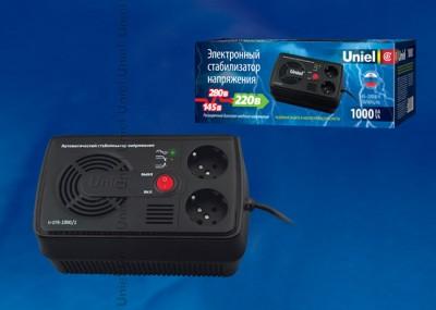 UNIEL U-STR-1000/1 Стабилизатор напряжения Uniel серии StandardСтабилизаторы<br><br>