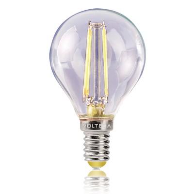 Лампа светодиодная шар 4W Е14 2800К VG1-G1E14warm4W-FВ виде шарика<br>Дизайнеры рекомендуют покупать для домашнего освещениялампу светодиодную Шар, Ваттность 4W, Цоколь Е14, Цветовая температура 2800К, VG1-G1E14warm4W-F ведь она не только эстетически акуратно выглядит, но и выдает достаточно высокий КПД светового потока!<br><br>Цветовая t, К: WW - теплый белый 2700-3000 К<br>Тип лампы: LED - светодиодная<br>Тип цоколя: Е14<br>MAX мощность ламп, Вт: 4<br>Диаметр, мм мм: 46<br>Длина, мм: 79<br>Высота, мм: 79