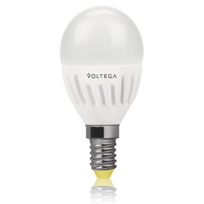 Лампа светодиодная шар 6.5W Е14 2800К VG1-G2E14warm6W-CВ виде шарика<br>Дизайнеры рекомендуют покупать для домашнего освещениялампу светодиодную Шар, Ваттность 6,5W, Цоколь Е14, Цветовая температура 2800К, VG1-G2E14warm6W-C ведь она не только эстетически акуратно выглядит, но и выдает достаточно высокий КПД светового потока!<br><br>Цветовая t, К: WW - теплый белый 2700-3000 К<br>Тип лампы: LED - светодиодная<br>Тип цоколя: Е14<br>MAX мощность ламп, Вт: 6,5<br>Диаметр, мм мм: 45<br>Длина, мм: 88<br>Высота, мм: 80