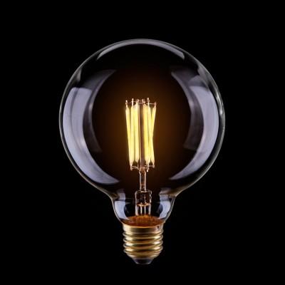 Светодиодная лампа Voltega VG10-G125Cwarm8WРетро стиля<br>Дизайнеры рекомендуют покупать для домашнего освещениялампу светодиодную диммируемая Шар лофт CLEAR, G125, Ваттность 8W, Цоколь Е27, 2800К, VG10-G125Cwarm8W ведь она не только эстетически акуратно выглядит, но и выдает достаточно высокий КПД светового потока!<br><br>Тип лампы: LED - светодиодная<br>Диаметр, мм мм: 125<br>Высота, мм: 170