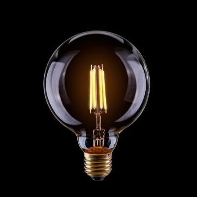 Светодиодная лампа Voltega VG10-G95Cwarm4WРетро стиля<br>Дизайнеры рекомендуют покупать для домашнего освещениялампу светодиодную диммируемая Шар лофт CLEAR, G95, Ваттность 4W, Цоколь Е27, 2800К, VG10-G95Cwarm4W ведь она не только эстетически акуратно выглядит, но и выдает достаточно высокий КПД светового потока!<br><br>Тип лампы: LED - светодиодная<br>Диаметр, мм мм: 95<br>Высота, мм: 140